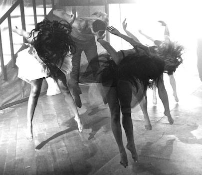 B&W Enstein's Dance