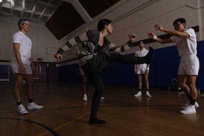 MJ directing Converse